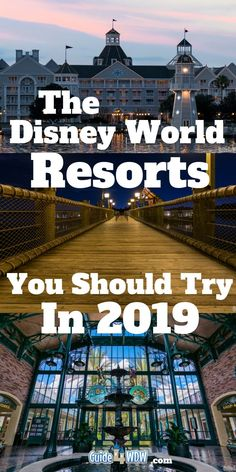 Our Top 5 Resorts for Walt Disney World in 2019 - What We Recommend Picking the best Disney resort hotels isnt always an easy thing to do. Everyones #DisneyWorld vacation expectations are different and it really makes all the difference int he world. However, weve compiled what we consider to be the best rooms, the best value for your money, and the pros and cons of these select few resorts we see as some of the best of the best at #WDW. Weve looked at Moderates, Deluxe, and even Values!