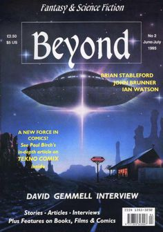 Closed!!  Beyond: Fantasy and Science Fiction pays 2.5 pounds per 1000 words.
