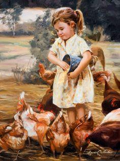 Gallery Ariana - The official Ariana Richards Portrait Artist website. Star of Jurassic Park --- Chicken Painting, Chicken Art, Chicken Feed, Arte Equina, California Art, Country Art, Artist Gallery, Western Art, Art Club