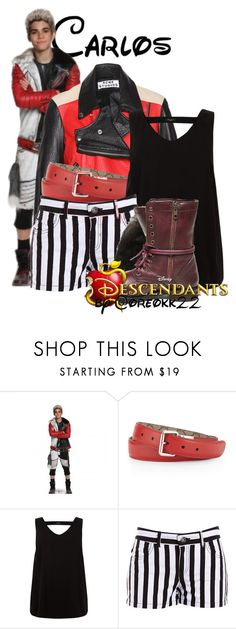 """""""✯; they think i'm callous / carlos"""" by oreokk22 ❤ liked on Polyvore featuring Disney, Gucci, BB Dakota, Steve Madden, polyvoreeditorial and BoundsByKaitlin"""