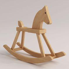 rosendahl rocking horse 3d 3ds