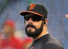 Brian Wilson has one of the best beards in sports - year round.
