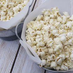 Post image for Zesty Parmesan Ranch Popcorn Recipe