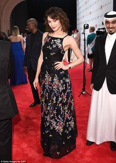 Olga Kurylenko attends the Opening Night Gala during day one of the 13th annual Dubai International Film Festival on December 7, 2016