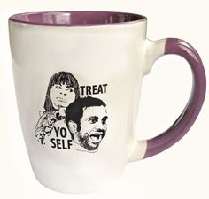 Treat Yo Self Mug. $16.00, via Etsy.  @Danielle ... this may be a present you get in the future. sorry to ruin the surprise :)