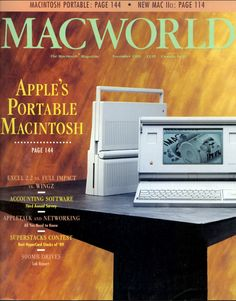 Macworld 1989 Macintosh Portable feature