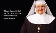 #MotherAngelica #Thursdaythought #EWTN #Easter2015