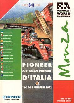 Fórmula 1 - Historia del Gran Premio de Italia