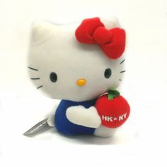 SITTING HELLO KITTY PLUSH $18.00 http://thingsfromjapan.net/sitting-hello-kitty-plush/ #hello kitty plush #sanrio kitty #hello kity item #sanrio product