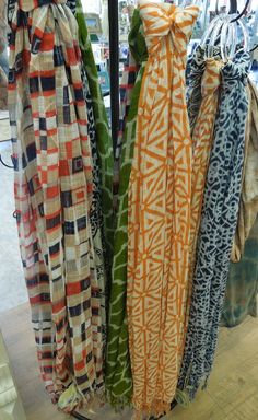 Spartina 449 Bamboo Weave Scarves  Super soft collection of playful patterns.