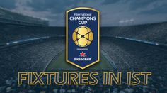 International Champions Cup ist fixtures