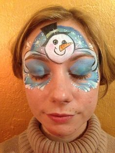 Christmas Face Painting Design
