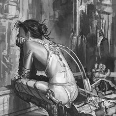 Cyberpunk artworks gallery - Page 42 Cyberpunk Girl, Arte Cyberpunk, Cyberpunk 2077, Steampunk, Blade Runner, Character Inspiration, Character Art, 3d Art, Cyberpunk Aesthetic