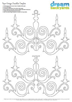 Paper chandelier PDF download