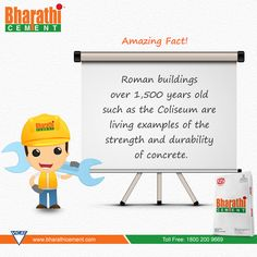 #Amazing Fact! Intresting #Fact on #Concrete.