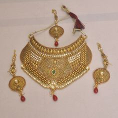 Pearls kundan  necklace  set