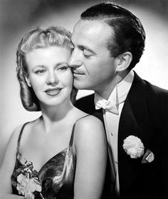 Ginger Rogers and David Niven make a cute couple in the movie BACHELOR MOTHER - Ginger doesn't dance, but carries this movie!