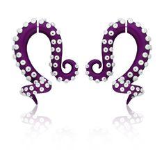 Fake gauge Fake Gauge Earrings Octopus Gauge by TaniaChernova, $9.50