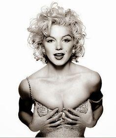 Marilyn had gorgeous hair!