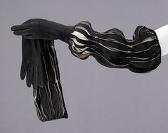 Gloves Design House: Hermès (French, founded 1837) Date: ca. 1947 Culture: French Medium: leather