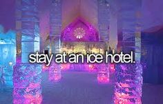 Ice Hotel!!