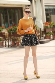 Fall Clothing Set--Top+Skirts Y308 – TO Design