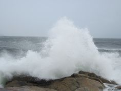 Hurricane Earl Waves~Halifax, Nova Scotia