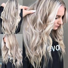 "195 Likes, 4 Comments - Hair By Nikki O (@hairbynikkio) on Instagram: ""#HAIRPORN⚠️⚠️⚠️ #blondegoals #balayageombre #blonde #hairenvy #manegoals #longhair #behindthechair…"""