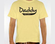 New DADDY Est. 2013 Mens T-shirt