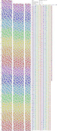 Verdrahtungsschema von Perlen | VK | Bead crochet | Pinterest | Bead ...