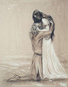 "Someday... by ekukanova - Inspired by the last words of ""Atrabeth Finrod ah Andreth"""