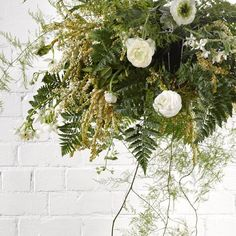 Hanging prettiness by @thebotanistnz. Make it yourself with our step-by-step instructions. #greenery #hangingbasket #yourhomeandgarden #thebotanist