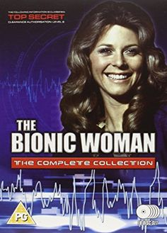 The Bionic Woman starring LIndsay Wagner as Jamie Sommars Amazon Dvd, Bionic Woman, 80s Tv, Steve Austin, Old Shows, Dvd Blu Ray, Classic Tv, Reality Tv, Favorite Tv Shows