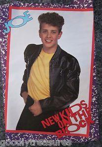 Joe Macintyre from NKOTB! Loved this poster!