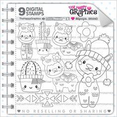 80%OFF - Alpaca Stamp, Commercial Use, Digi Stamp, Digital Image, Alpaca Digistamp, Animal Stamp, Alpaca Clipart, Cactus Stamp
