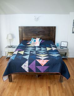 Jaime's Cotton and Steel Four Winds Quilt | Fancy Tiger Crafts