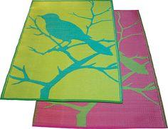 outdoor rug, love it