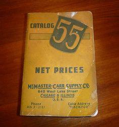 McMaster-Carr Catalog #55 1948 ebay auction 221184004688 2/22/13 $425  ----  Tool Hardware Equipment Chicago Catalog