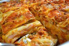 Lasanha Pasta Recipes, Cooking Recipes, Healthy Recipes, Portuguese Recipes, Italian Recipes, I Love Food, Good Food, Food Porn, Food And Drink