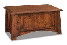 Amish Boulder Creek Condo Size Blanket Chest with Cedar Bottom Imagine this gorgeous wood chest for your cozy blankets and linens. The Boulder Creek is built in the wood and stain of your choice and lined with cedar for its fresh scent and insect repelling capabilities. Exquisite wood furniture Amish made in America. #blanketchest #hopechest #bedroomchest