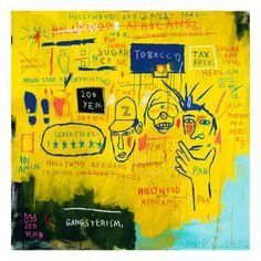 オールポスターズの ジャン=ミシェル・バスキア「Hollywood Africans, 1983」ジクレープリント