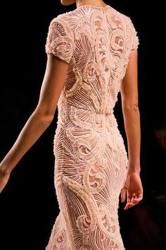 Intricate details from Naeem Khan.