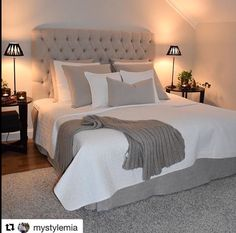 Newest Master Bedroom Ideas For Wonderful Home ~ Gorgeous House Master Bedroom Design, Bedroom Inspo, Dream Bedroom, Home Decor Bedroom, Bedroom Ideas, Bedroom Wall, New Room, Beautiful Bedrooms, Home Fashion