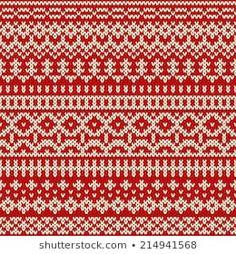 Lignende bilder, arkivbilder og vektorer av Winter Holiday Pattern on the Wool Knitted Texture. Loom Knitting Patterns, Knitting Stitches, Knitting Socks, Free Knitting, Stitch Patterns, Knitting Tutorials, Fair Isle Chart, Fair Isle Knitting, Christmas Knitting