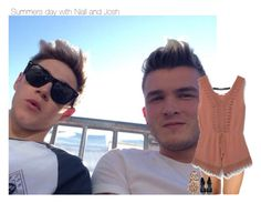 """summers day with Niall and josh"" by sexyirishman ❤ liked on Polyvore featuring MANGO, likeforlike, NiallHoran and onedirectionoutfits"