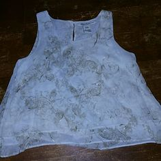 American Rag top extra small Excellent condition never worn American Rag Tops Crop Tops