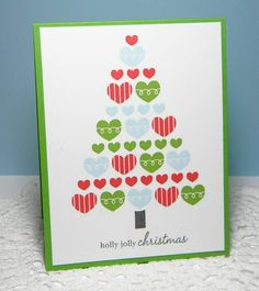 Melissa Bickford -- Melissa created a beautiful card.  And ... I think with a different sentiment could be made into a sweet Valentine card.