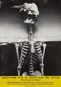 poster / Modern Art Oxford 50:50 | 13. Despatches from an unofficial war artist