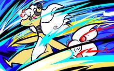 Mega Ampharos | Thunder by ishmam.deviantart.com on @deviantART