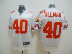Reebok NFL Arizona Cardinals 40 Pat Tillman White Jersey:$21
